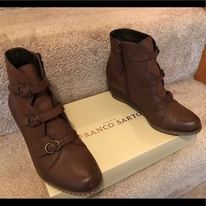 Franco Sarto, Leather ankle boot